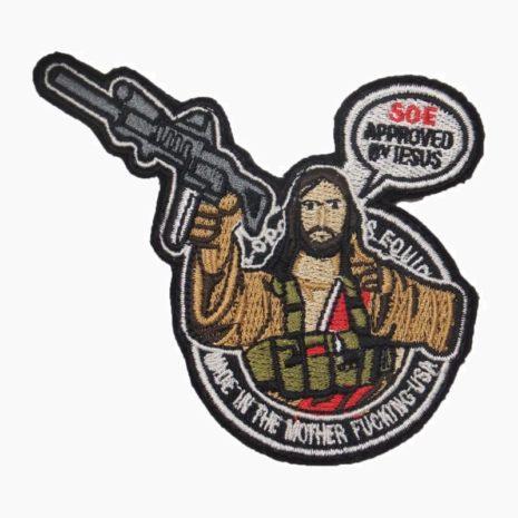 Иисус с автоматом - Approved by Jesus