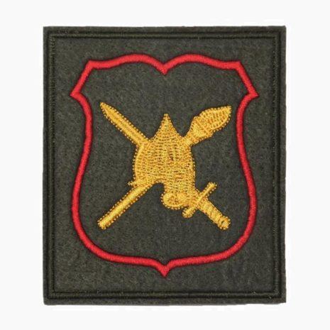 Шеврон военнослужащих аппарата НГШ