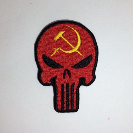 Череп в цветах СССР