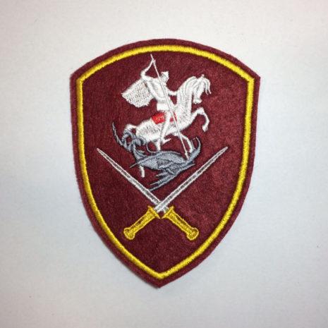 Нарукавный знак военнослужащих Росгвардии